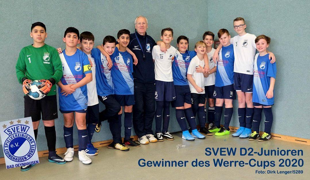 Unsere D2 Jugend gewinnt den Werre-Cup