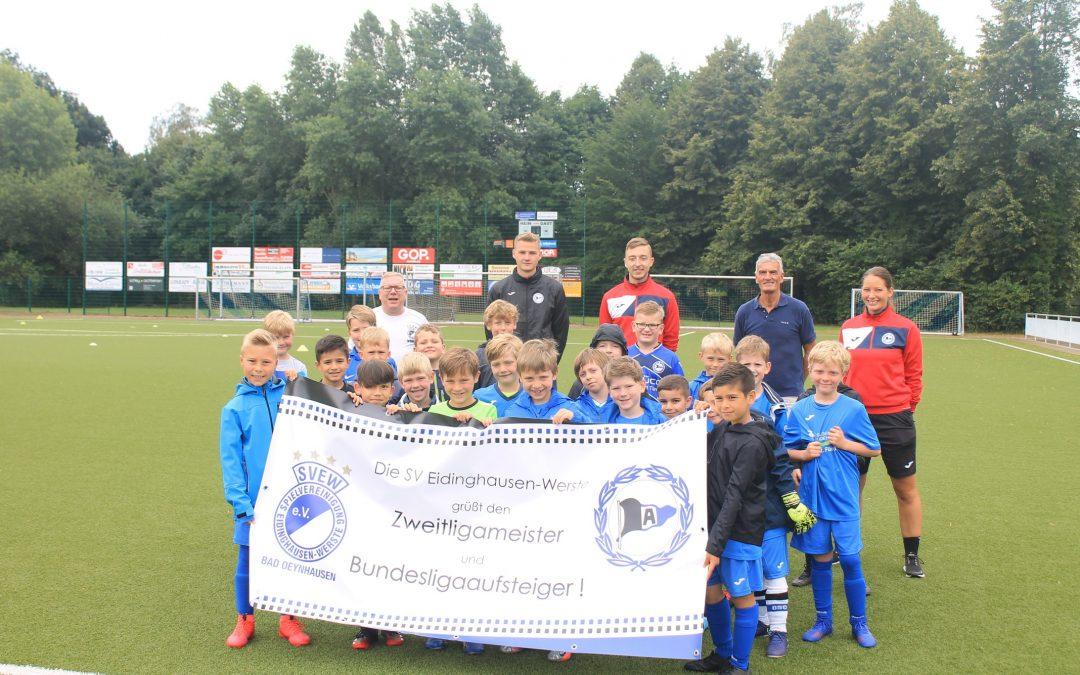 Arminia Fußballschule startet